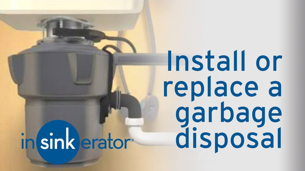 How do I install or replace a garbage disposal   Westlake Ace ...