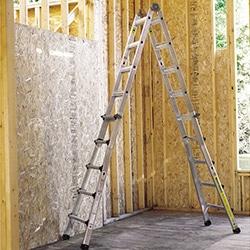 building supplies materials ladders