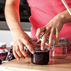 canning supplies jam jars
