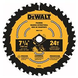 dewalt power saw blade teeth