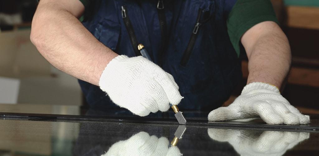 glass cutting repair