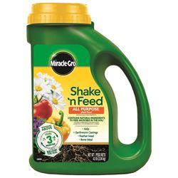 miracle gro plant food shake n feed